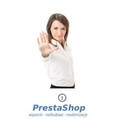PrestaShop formularz kontaktowy zabezpieczenie przed spamem
