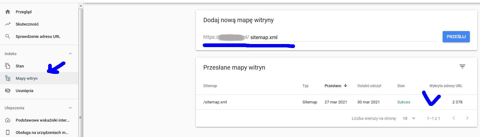 mapa strony presta shop
